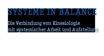 Systeme in Balance Kinesiologie Logo